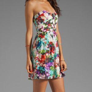 Parker Lily Dress in Secret Garden Floral Size Sm